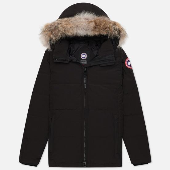 Женская куртка парка Canada Goose Chelsea Black