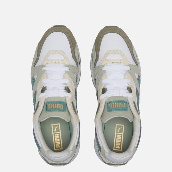 Мужские кроссовки Puma MIrage Mox MMQ Earthbreak White/Desert Sage
