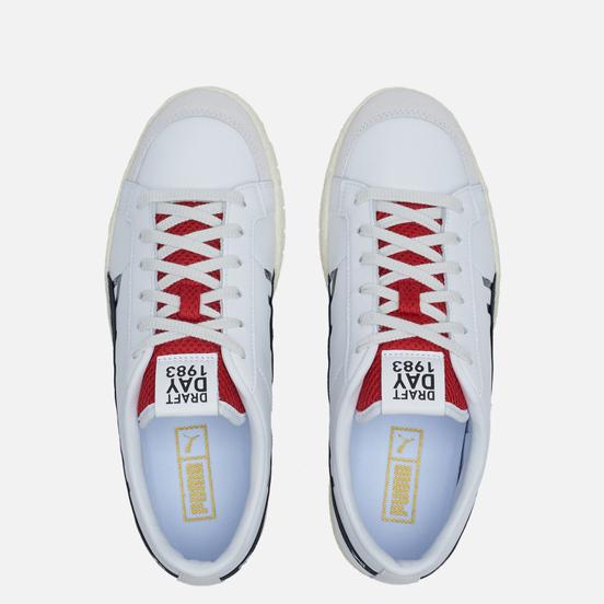 Мужские кроссовки Puma Ralph Sampson 70 Low Draft White/Nimbus Cloud/Urban Red
