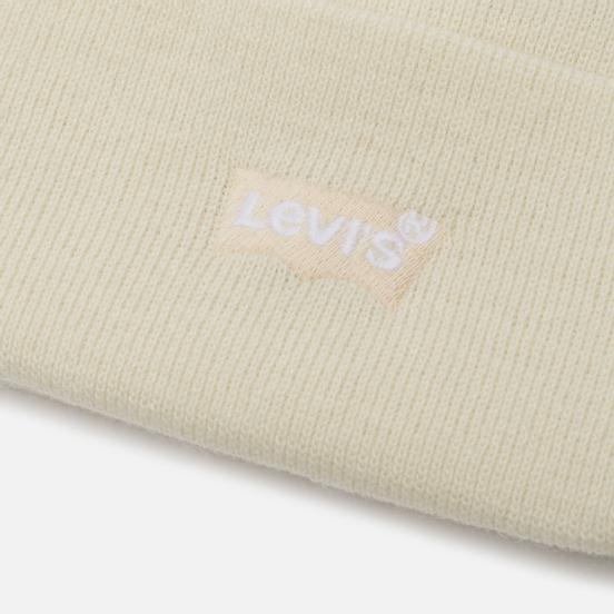 Шапка Levi's Slouchy Beanie Regular White