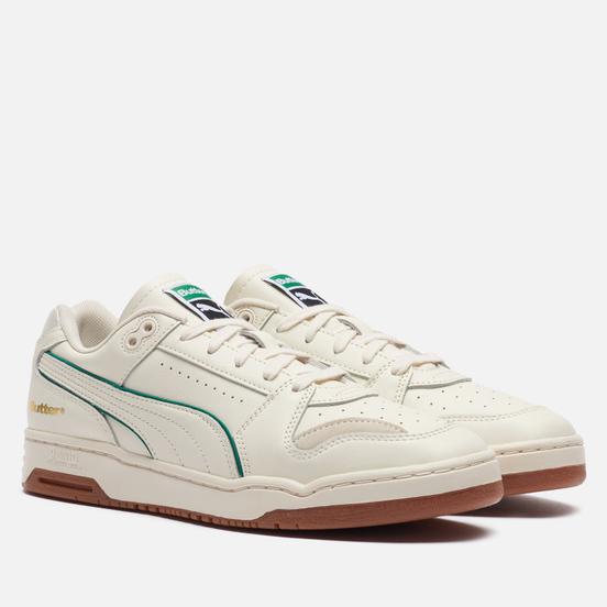 Мужские кроссовки Puma x Butter Goods Slipstream Low Whisper White/Cadmium Green