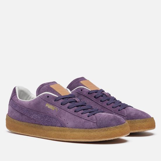 Кроссовки Puma Suede Crepe SC Sweet Grape/Plum Purple/White