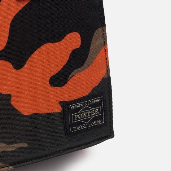 Сумка Porter-Yoshida & Co PS Camo Shoulder Woodland Orange