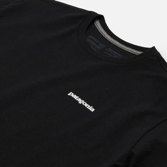 Мужская футболка Patagonia P-6 Logo Responsibili-Tee Black