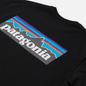 Мужская футболка Patagonia P-6 Logo Responsibili-Tee Black фото - 2