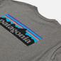 Мужской лонгслив Patagonia P-6 Logo Responsibili-Tee Gravel Heather фото - 2