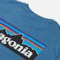 Мужская футболка Patagonia P-6 Logo Organic Pigeon Blue фото - 2