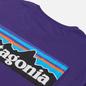 Мужская футболка Patagonia P-6 Logo Organic Purple фото - 2