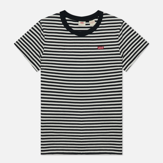 Женская футболка Levi's Perfect Stripe Raita Stripe Caviar