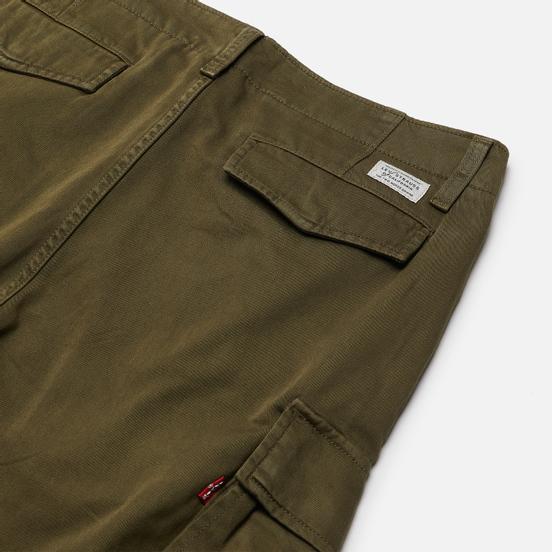 Мужские брюки Levi's XX Taper Cargo II Garment Dye Bunker Olive