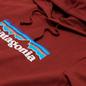 Мужская толстовка Patagonia P-6 Logo Uprisal Hoodie Barn Red фото - 1