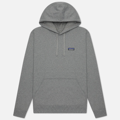 Мужская толстовка Patagonia P-6 Label Uprisal Hoodie Gravel Heather