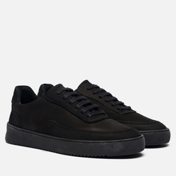 Кроссовки Filling Pieces Mondo 2.0 Ripple Nubuck All Black