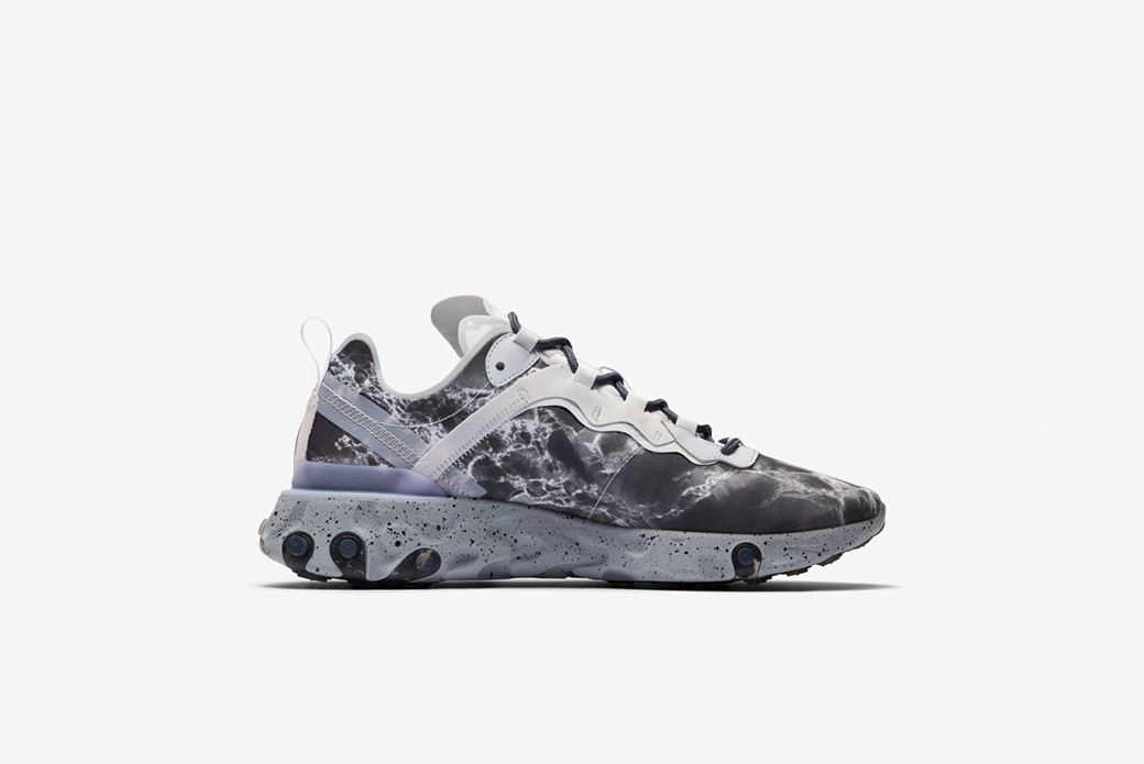 Nike × Kendrick Lamar React Element 55: мраморный инь-ян
