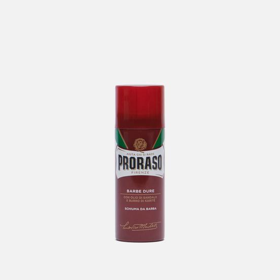 Пена для бритья Proraso Moisturising And Nourishing Shea Butter Oil/Sandalwood Travel Size