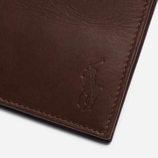 Кошелек Polo Ralph Lauren Internal Camouflage Smooth Leather Billfold Camo/Brown