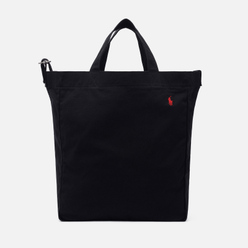 Сумка Polo Ralph Lauren Canvas Large Shopper Tote Polo Black/Red PP