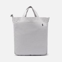 Сумка Polo Ralph Lauren Canvas Large Shopper Tote Soft Grey/Black PP