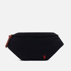 Сумка на пояс Polo Ralph Lauren Canvas Medium Embroidered Logo Polo Black/Red PP