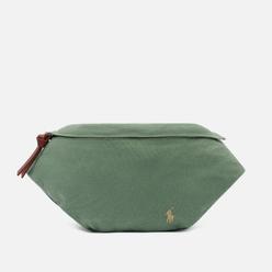 Сумка на пояс Polo Ralph Lauren Canvas Medium Embroidered Logo Fatigue/Soft Tan PP