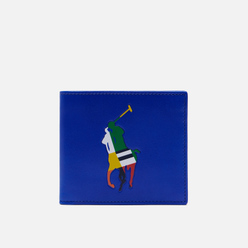 Кошелек Polo Ralph Lauren Signature Pony Leather Billfold Active Royal