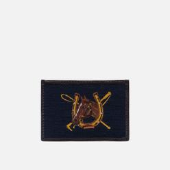 Держатель для карточек Polo Ralph Lauren Equestrian Needlepoint Navy/Yellow
