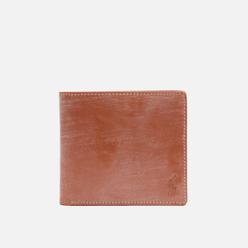 Кошелек Polo Ralph Lauren Bridle Leather Billfold Small Saddle