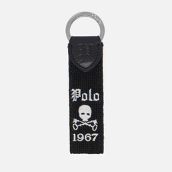 Брелок для ключей Polo Ralph Lauren Skull Polo 1967 Black