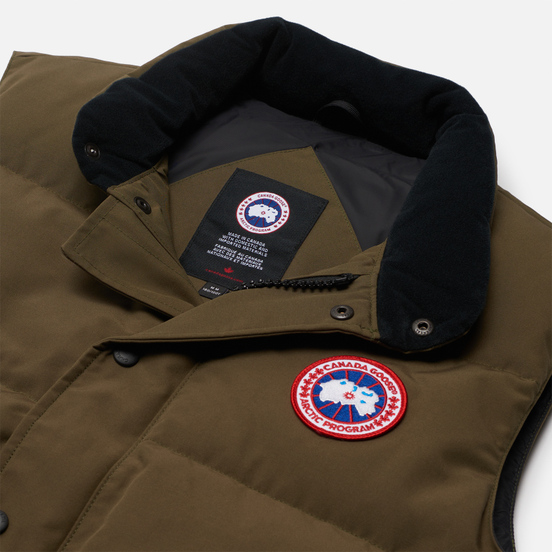 Мужской жилет Canada Goose Freestyle Crew Vest Military Green