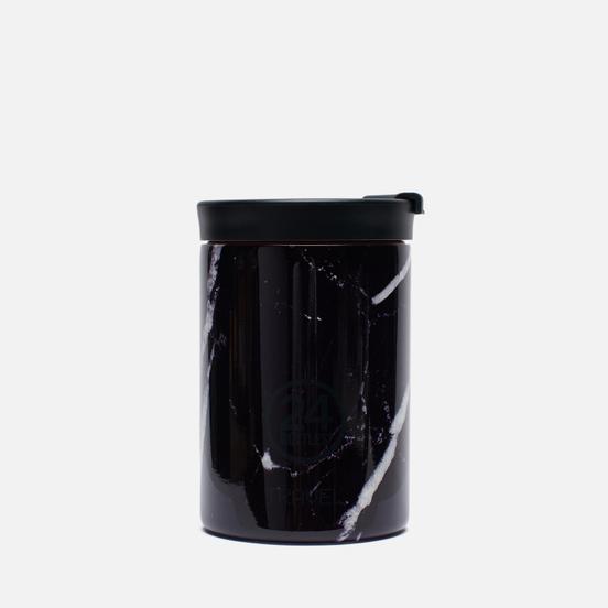 Термокружка 24Bottles Travel Small Marble Black