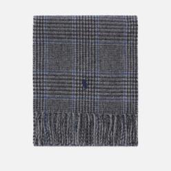 Шарф Polo Ralph Lauren Reversible Wool/Nylon Oblong Grey Plaid