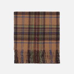 Шарф Polo Ralph Lauren Greenwich Plaid Recycled Wool Infinity Brown/Multi