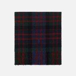 Шарф Polo Ralph Lauren Greenwich Plaid Recycled Wool Infinity Red/Green