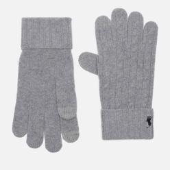 Перчатки Polo Ralph Lauren Classic Cable Wool/Nylon Andover Heather
