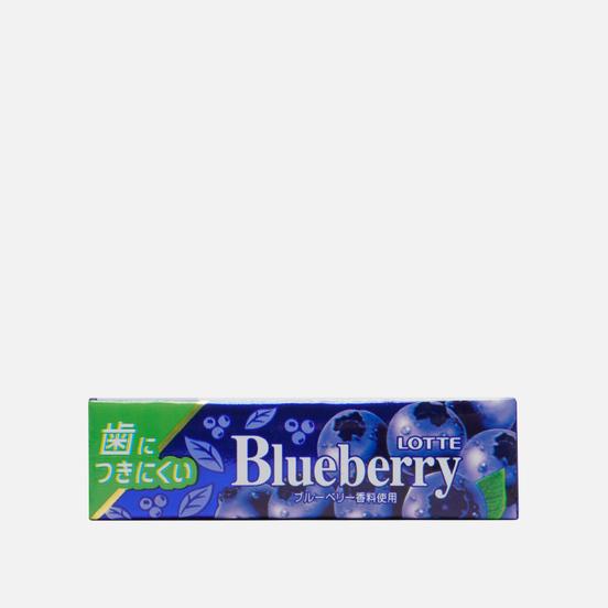 Жевательная резинка Lotte Blueberry