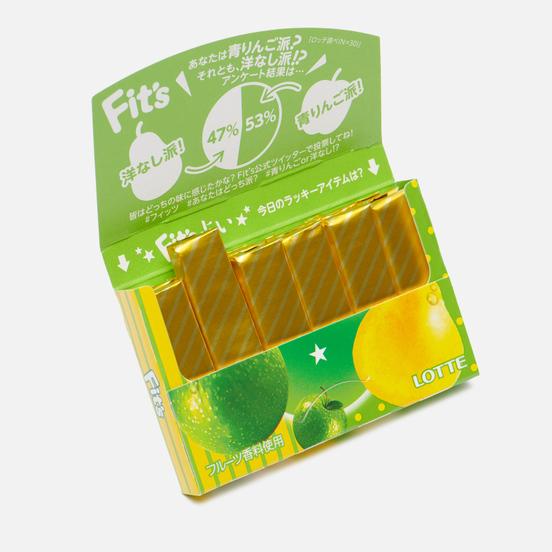 Жевательная резинка Lotte Fit's Green Apple And Pear