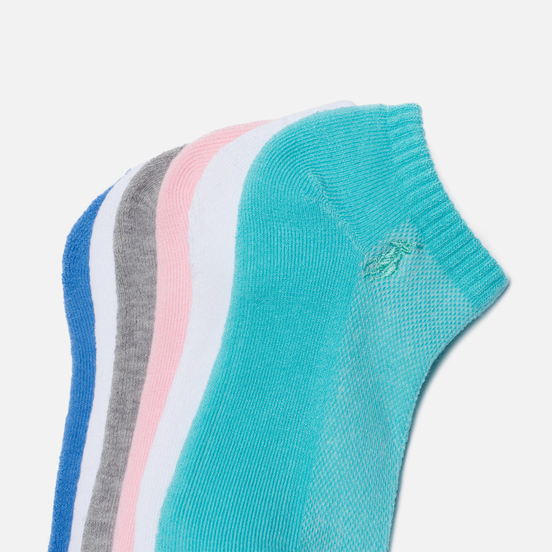 Комплект носков Polo Ralph Lauren Cushioned Sole 6-Pack Pastel