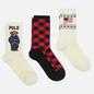 Комплект носков Polo Ralph Lauren 3-Pack Gift Box 3 Multicolor фото - 0