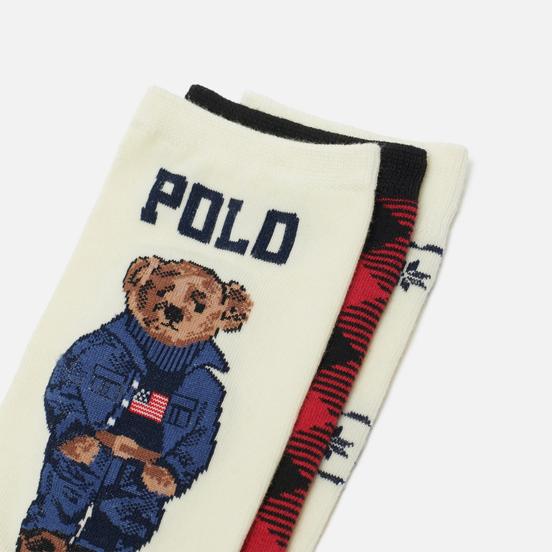 Комплект носков Polo Ralph Lauren 3-Pack Gift Box 3 Multicolor
