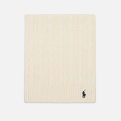 Шарф Polo Ralph Lauren Cable-Knit Cotton Clubhouse Cream
