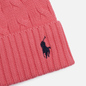 Шапка Polo Ralph Lauren Cable Cotton Cold Weather Horizon Pink фото - 1