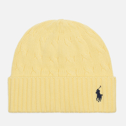 Шапка Polo Ralph Lauren Cable Cotton Cold Weather Bristol Yellow
