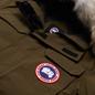 Мужская куртка парка Canada Goose Citadel Military Green фото - 1