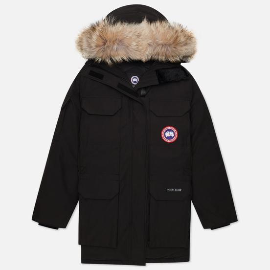 Женская куртка парка Canada Goose Expedition Black