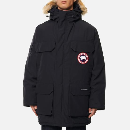 Мужская куртка парка Canada Goose Expedition RF Navy