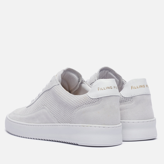 Кроссовки Filling Pieces Mondo Perforated White