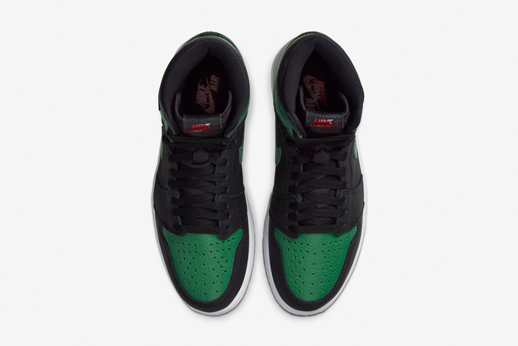 "Air Jordan 1 High OG ""Pine Green"": ничего лишнего"