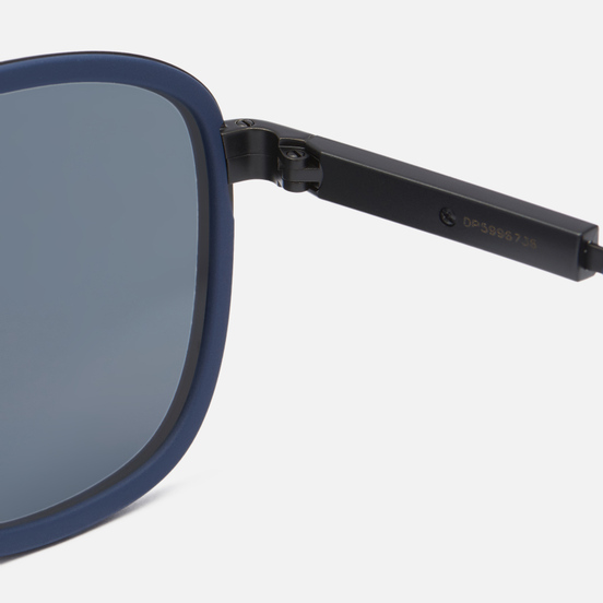 Солнцезащитные очки Prada Linea Rossa 50XS-02P04I-3N Matte Black/Blue Rubber/Blue Mirror/Blue