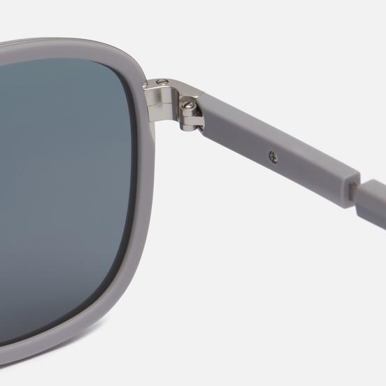 Солнцезащитные очки Prada Linea Rossa 50XS-04P08F-2N Matte Silver/Ice Rubber/Dark Grey Mirror Blue/Red