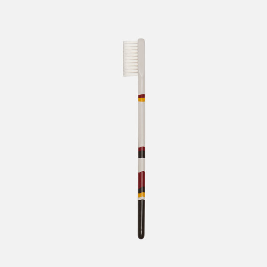 Зубная щетка Piave Medium Tynex Nylon Slim Brown/White